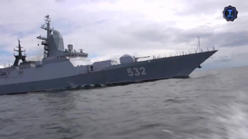 БОЙКИЙ-многоцелевой сторожевой корабль ближней морской зоны (корвет) проекта 20380.avi