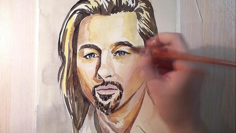 Промо-ролик курса: Основы акварельного рисунка от школы рисования Imagination