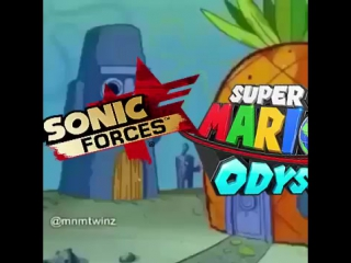 sonic forces vs super mario odyssey