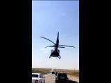 Пафосный Шымкент_ свадебный кортеж сопровождает вертолет