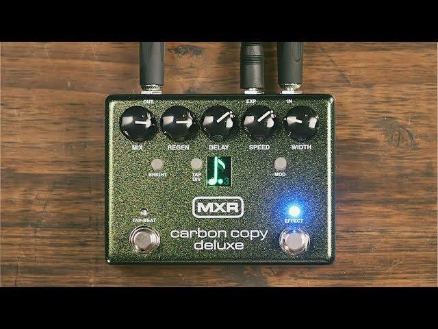 MXR Carbon Copy® Deluxe Analog Delay
