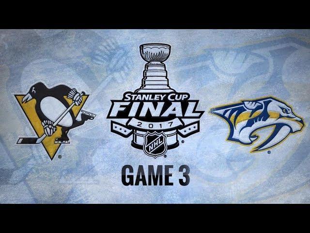 Обзор | НХЛ. Кубок Стэнли 2017. Финал, матч №3. «Питтсбург» – «Нэшвилл» 1:5 (счёт в серии: 2–1) | 03.06.17