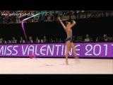 Hanna Bozhko Ribbon Final - Miss Valentine Cup Tartu 2017