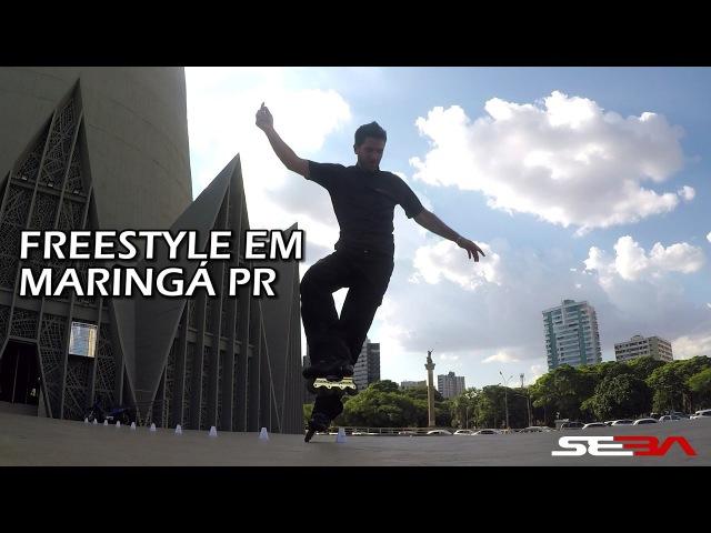 Freestyle em Maringá com Rodrigo Morgado