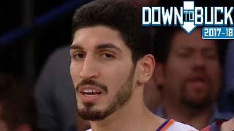 Enes Kanter 20 Points/1 Fight Full Highlights (11/13/2017)