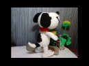 Милый песик Снупи!, ч.1. Sweet little dog Snoopy!, р.1. Amigurumi dog. Амигуруми собака.