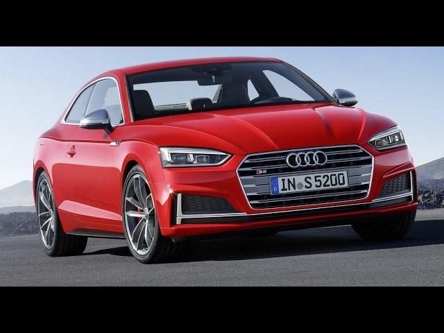 Новая Ауди А5 и S5 2017 года. Audi A5 and Audi S5