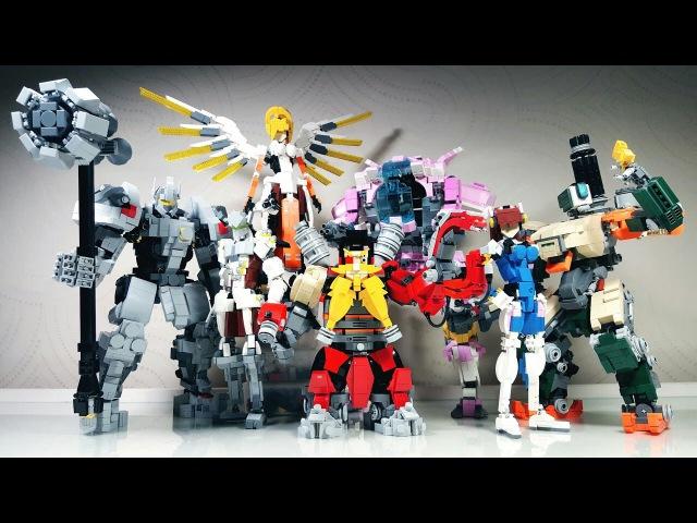 LEGO Overwatch/레고로만든 오버워치 캐릭터들!/돼지형아 2016년 작품 파트2