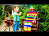 Bad Baby ARE YOU SLEEPING Learn Colors with TAPE Children songs Nursery Rhymes for kids Family Fun