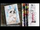 Как нарисовать скетч французский бульдог! Dari_Art