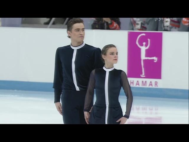 [4K60P] Ekaterina Gordeeva and Sergei Grinkov 1994 Lillehammer Olympic FS Moonlight Sonata