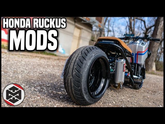 2016 Honda Ruckus GY6 Mods! Total Cost?