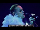 Depeche Mode - Sister of Night (one night in paris) con subtítulos