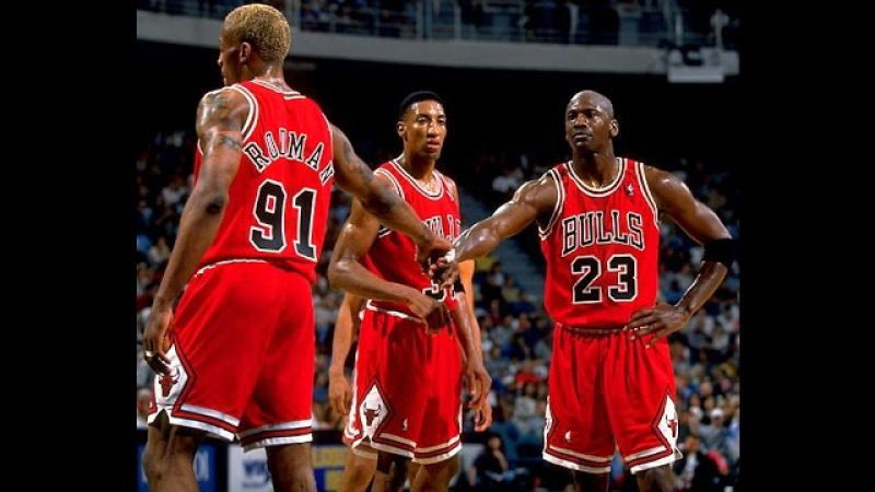 NBA Greatest Trios: Jordan, Pippen Rodman vs Heat (1996)