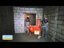 Штукатурные работы - машинная штукатурка стен и потолков