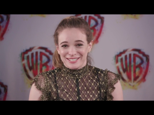 Danielle Panabaker and The flash cast SDCC2017