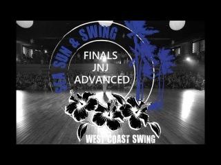 Finales jnj Advanced Mickael & Alesya Sea Sun Swing 2017