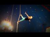 Circus Bambi Akrobatik am Vertikalseil mit Leni
