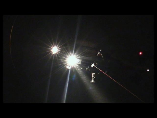 Три вертолета Ка-32А тушат большой пожар в ТЦ Синдика 65 км. МКАД - 2 часть