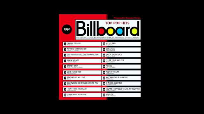 Billboard Top Pop Hits 1990 (2016 Full Album)