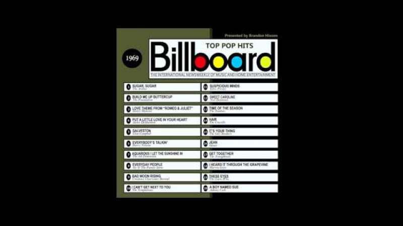 Billboard Top Pop Hits - 1969
