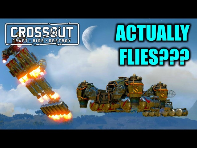 CROSSOUT PLANE BUILD ft. Osama Airlines