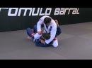 Тройная атака от Ромуло Баррала с выходом на теругольник сверху