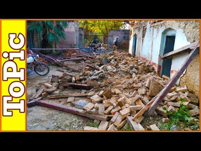 Землетрясение в Китае, Индии и Эквадоре 18.11.2017. Earthquake in China, India and Ecuador
