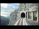CABVIEW Bar - Bijelo Polje - 102 tunnels - 96 bridges - 1029m altitude change from Sea to Mountains