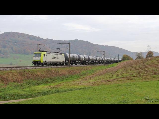 Captrain, Crossrail und SBB Cargo am Bözberg