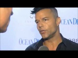 (INTERVIEW) Ricky Martin on ABC News  Ocean Drive Magazine Gala