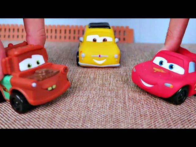 Code de la route pour enfants avec McQueen et Martin. Vidéo en français
