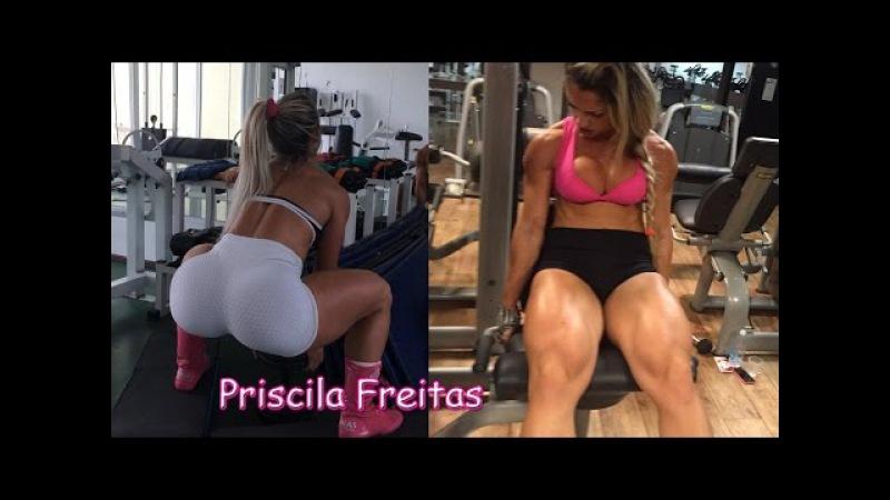 Priscila Freitas | Fitness Model; Ab,Building a Perfect Bigger Butt @Brasil