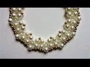 Beaded wedding necklace pattern