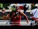 дівчина яка запам'яталася багатьом по фотографіях з вуличних протестів у Венесуелі
