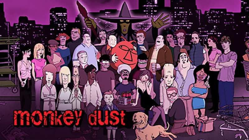 Monkey dust 38 обезьян 3 сезон