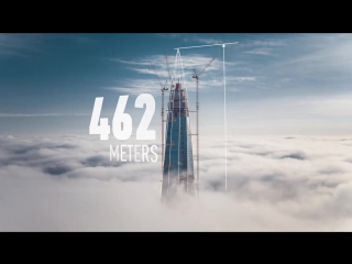 Лахта Центр. Самое высокое здание Европы _ Lakhta Center. The highest building in Europe