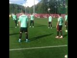 Тренировка сборной Португалии и Роналду в Казани в Соцгороде