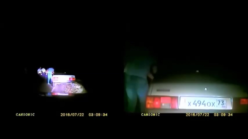 Беспредел и глумление полиции КБР над человеком в наручниках