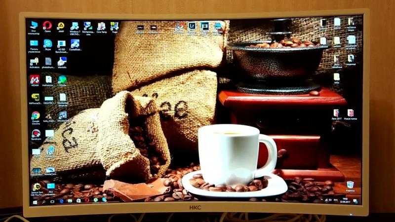 HKC C7000 (NB27C) - 27 монитор с изогнутым экраном для домашнего использования