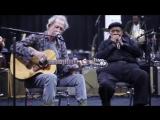 Keith Richards  James Cotton Rehearsing