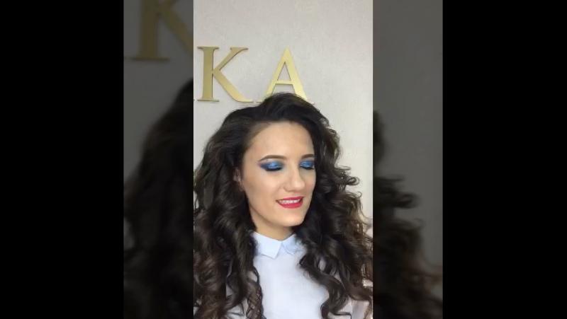 Чудесное преображениях для обворожительной Валентины 💫 Визажист стилист по причёскам Наталья Хазова