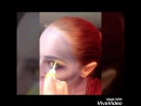Elven queen make-up