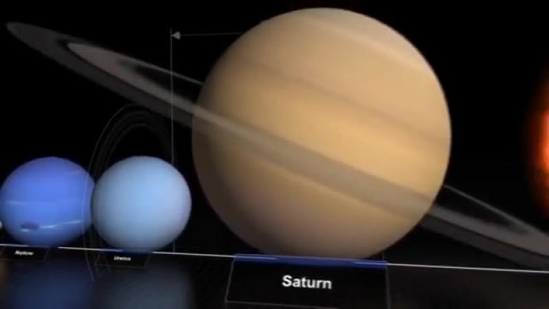 Размеры вселенной можно осознать посмотрев это видео.