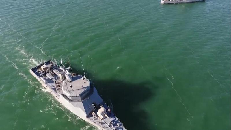 ҚР ҚК Әскери-теңіз күштерінің зымыран-артиллериялық корабльдері ұдайы жауынгерлік кезекшілікте