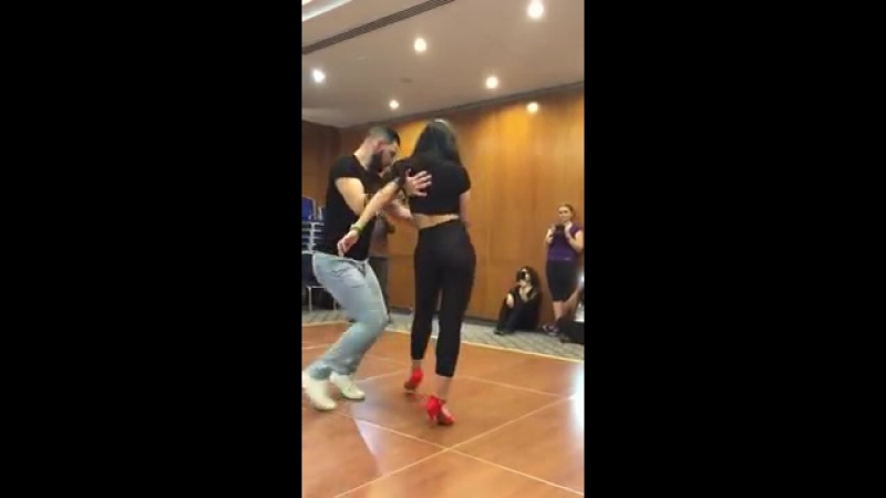 BACHATA Dance - Sexy - Beyonce _ BNF Dubai Latin Festival - Daniel y Desiree en