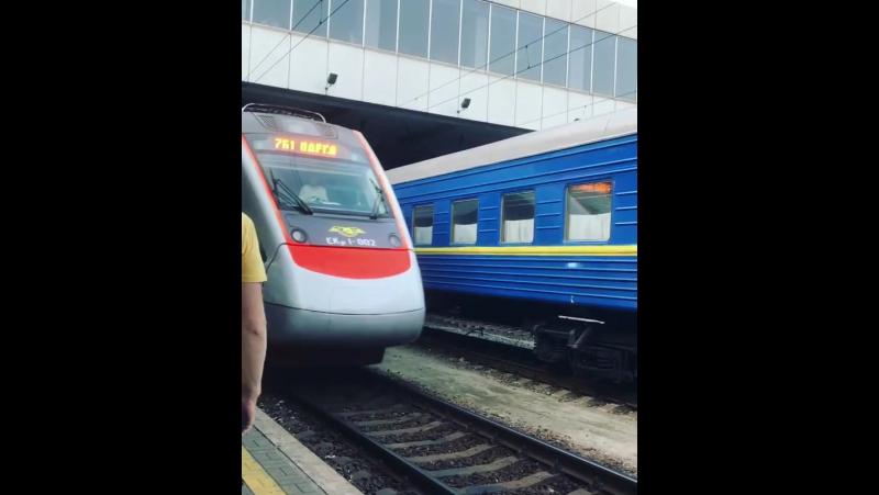 Екр1-002 763 Дарниця-Одесса ст.Киев-Пассажирский