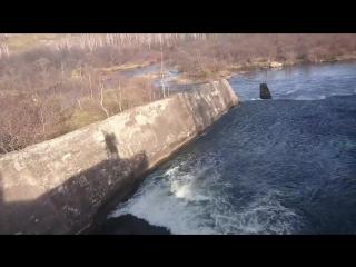 Заброшенная ГЭС в Дубинино