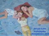 день матери женщина с ребенком на руках