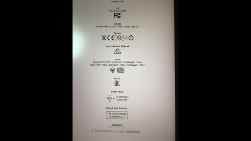Ipad2/3G отвязкаотicloud